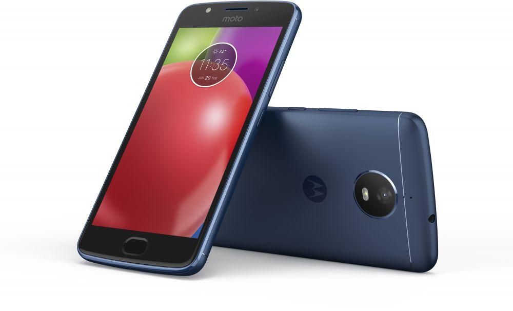 Moto E4  Dual Sim Smartphone 2GB RAM + 16GB Blue