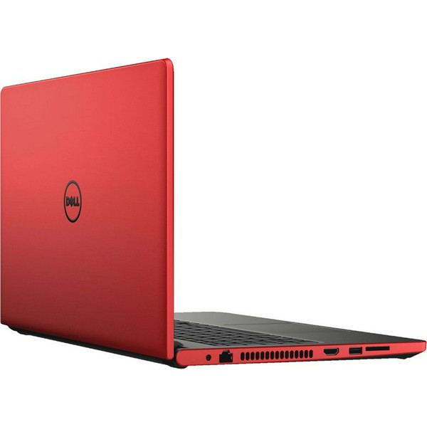 DELL INSPIRON 3567-1045 LAPTOP- i3-15.6''DISPLAY-WIN10- 4GB RAM-1TB HDD- HD GRAPHICS 520 RED