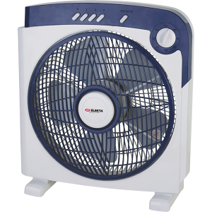 "Elekta 12"" Box Fan with Rotation & Tropical Climate"