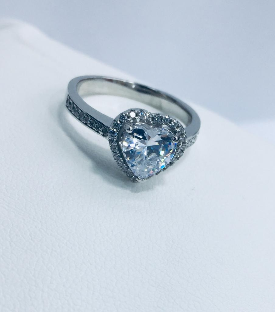 RING WITH STONE FOR GIRLS