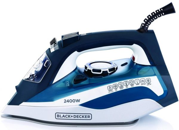 Black & Decker Steam Iron With Ceramic Soleplate, X2150-b5