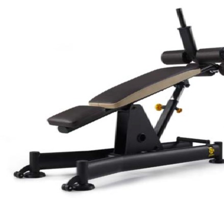 ST ADJUSTABLE ABDOMINAL BENCH