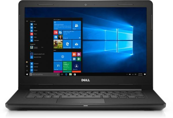 DELL INSPIRON 3467-1087 LAPTOP- i3- 14''DISPLAY- 4GB RAM-1TB HDD- HD GRAPHICS 520- WIN10 - BLACK