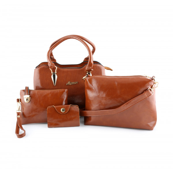 LADIES HAND BAG COMBO SET OF 4