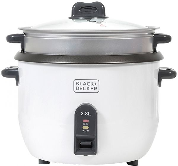 Black & Decker RC2850-B5 2.8 Liter Non-Stick Rice Cooker