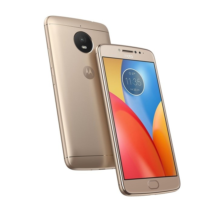 Moto E4 Plus Dual Sim Smartphone 3GB RAM + 16GB Gold