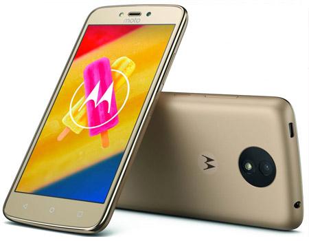Moto C Plus 4G Dual Sim Smartphone 16GB Gold
