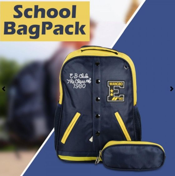 SCHOOL BAG SET FOR BOYS