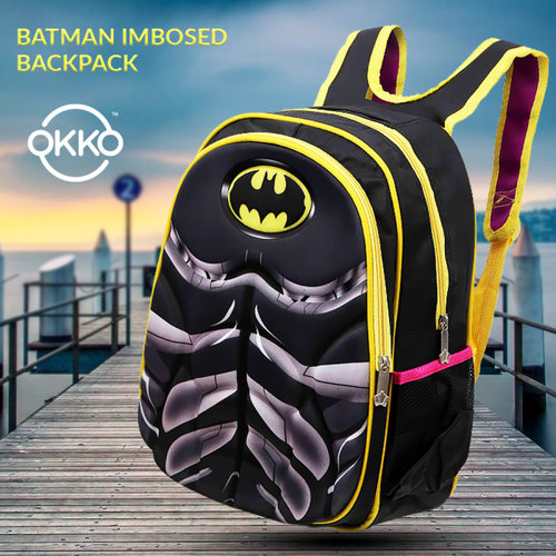 SCHOOL BAG BATMAN IMPOSED