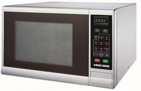 Black & Decker 30L Microwave Oven with Grill