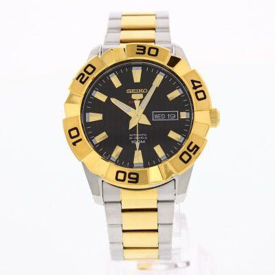 Seiko Men's Black Dial  Watch - SRPA56J