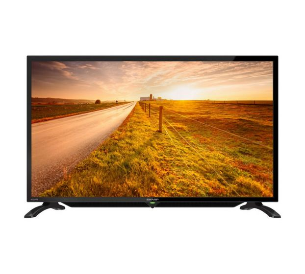 "Sharp LC-32LE185M 32"" LED TV with USB Movie"